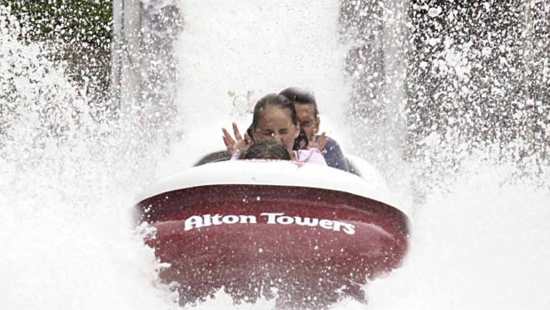 Alton Towers - The Flume - Abriss