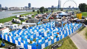 Freizeit-Land Geiselwind 2016 mit größtem mobilen Labyrinth der Welt