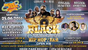 "Hip-Hop/R&B-Open-Air ""Black Sensation"" findet 2016 im Heide Park statt"