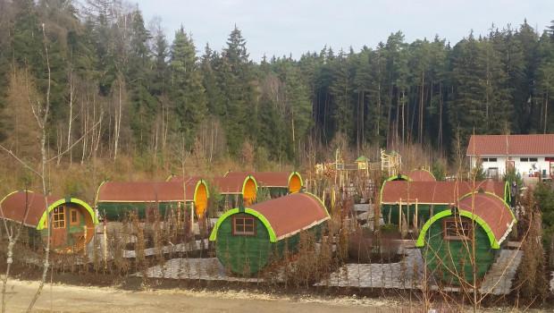 LEGOLAND Deutschland Camping-Fässer im Wildnis Look