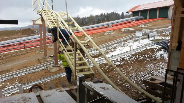 Da voglwuide Sepp - St. Englmar 2016 - Baustelle Februar 1