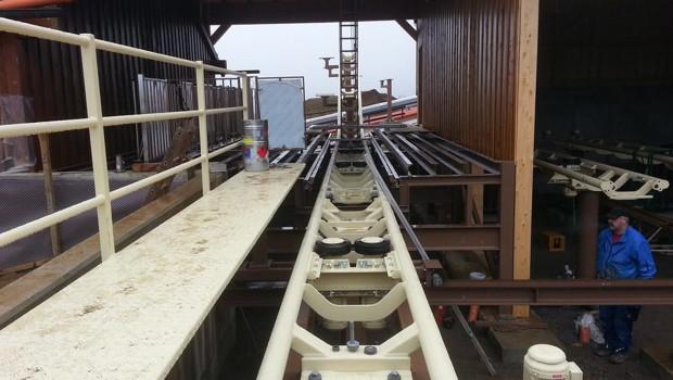 Da voglwuide Sepp - St. Englmar 2016 - Baustelle Februar 2