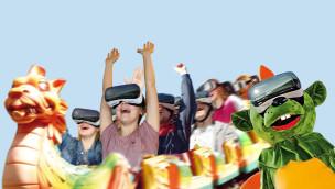 """Erlebnispark Schloss Thurn startet am 19. März mit Neuheit """"Dinolino's VR-Ride"""" in die Saison 2016"""