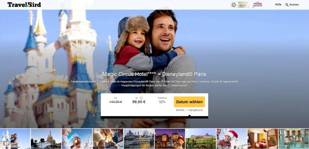 Disneyland Paris Angebot mit Übernachtung im Magic Circus-Hotel 02/16