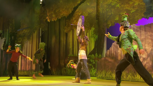 "Disneyland Paris Musical ""Forest of Enchantment"" - Szene 2"