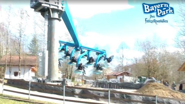 Duell der Adler im Bayern Park macht erste Fahrt
