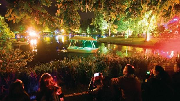 Efteling Gondoletta bei Nacht