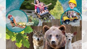 """Eifelpark Gondorf 2016 mit vielen Neuheiten: """"Baustellen""""-Themenbereich, neue Falknerei und mehr"""