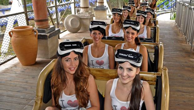 Europa-Park Miss 2016 auf Pegasus VR-Ride