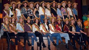 Deutschlands Missen 2016 feierten Western-Fastnachtsparty im Europa-Park