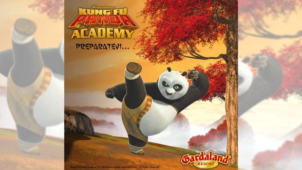 Gardaland Kung Fu Pandy Academy 2016 Ankündigung