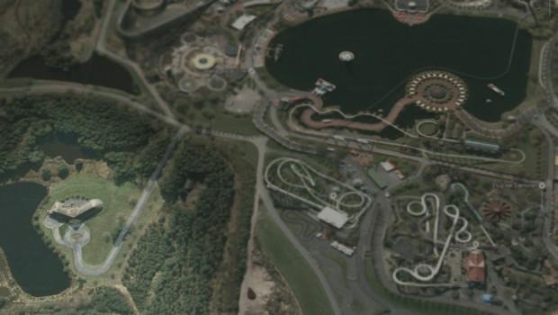Heide Park Villa Luftbild