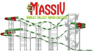 Höchste Wasserrutsche der Welt entsteht im Wasserpark Schlitterbahn Galveston