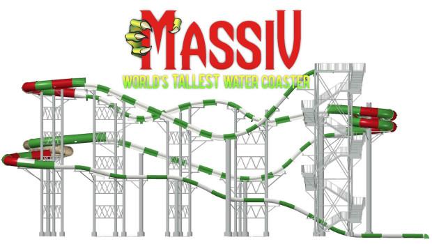 Höchste Wasserrutsche der Welt - MASSIV Ankündigung für Schlitterbahn Galveston