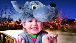 Erlebnis-Zoo Hannover veranstaltet 2016 Kinder-Karneval on Ice am Rosenmontag