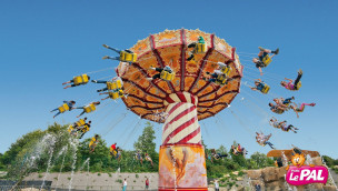 Parc Le Pal eröffnet 2016 Kettenkarussell und lässt Leoparden einziehen