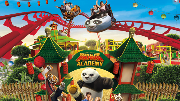 Kung Fu Panda Academy im Gardaland - Artwork