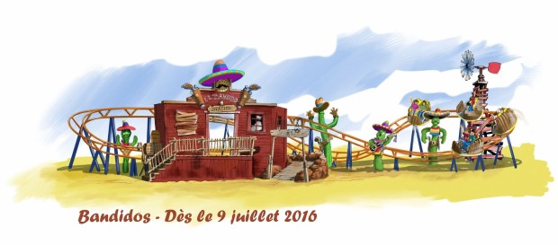 La Mer de Sable -  Mini Spinning Coaster Concept