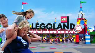 Familie im LEGOLAND Deutschland