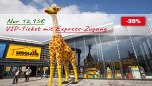 Rabatt für LEGOLAND Discovery Centre Oberhausen: VIP-Ticket 35% günstiger