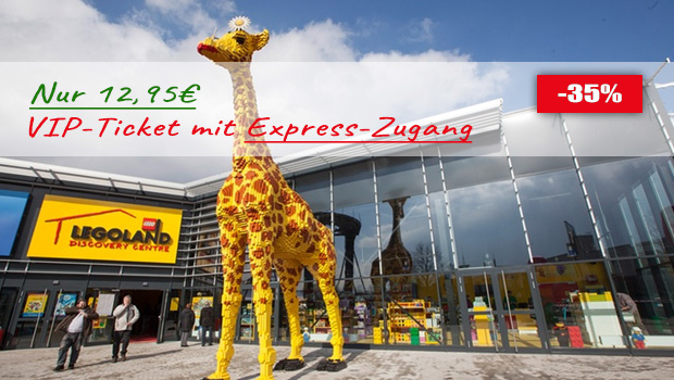 LEGOLAND Discovery Centre Oberhausen VIP-Ticket günstig