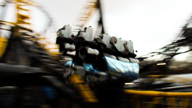 Lost Gravity Geschwindigkeit in Walibi Holland