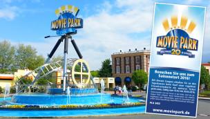Movie Park Germany Gutschein 2016 zum Ausdrucken: 50% Rabatt im März und April sichern!