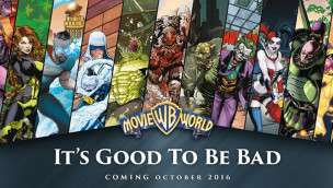 Movie World Australia DC Comics Themenbereich ANkündigung