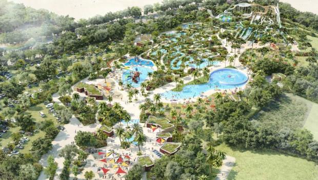 O'Gliss Park Konzept Luftaufnahme