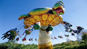 "OK CORRAL feiert 50. Jubiläum mit Kettenkarussell ""Flying Turtle"" als Neuheit 2016"