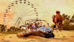 """Peter Ludolf am 13. Juli 2016 im Serengeti-Park: Einweihung der neuen """"Quad-Safari"""""""