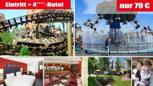 Phantasialand Angebot 2016 mit Eintritt und Übernachtung im 4-Sterne-Hotel für 79 Euro p.P.