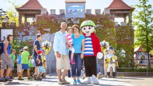 PLAYMOBIL-FunPark im Mai 2017: Neuer Wasserspielplatz, Aktions-Tage und Biergarten-Eröffnung