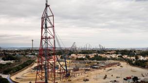 Höchste und schnellste Achterbahn Europas gekrönt: Höchster Punkt bei Achterbahn in PortAventuras Ferrari Land gebaut