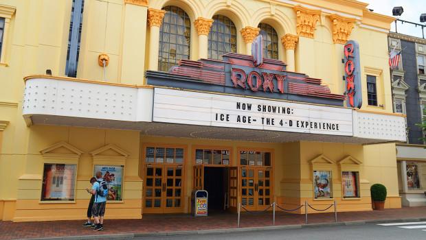 Roxy-4D-Kino im Movie Park Germany