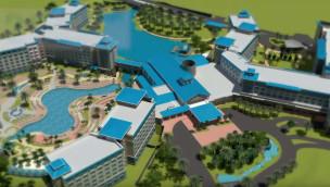 Saphire Falls Resort - Universal Orlando Konzeptgrafik