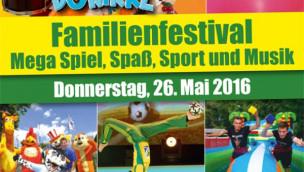 Skyline Park lädt zum Familienfestival 2016 am 26. Mai ein: Das wird geboten!