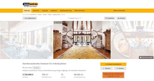 Tiemann Villa Heide Park Expose bei Immowelt