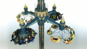 "Tivoli Gardens erhöht Nervenkitzel bei ""Fatamorgana"" 2019 mit neuem Kipp-Effekt"