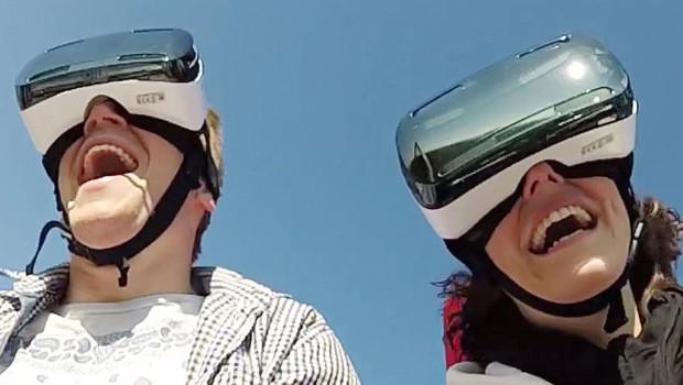 VR Coaster Headset