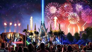 Walt Disney World Florida will Nachthimmel mit spektakulärer Star Wars-Show zum Leuchten bringen