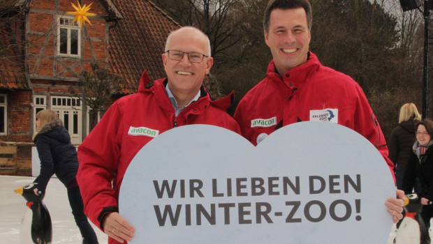 Winter-Zoo Hannover Ende 2016