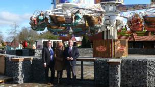 "Wunderland Kalkar eröffnet Condor ""Atlantis"" als Neuheit 2016 zum Saisonstart"