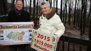 Zoo Osnabrück zieht Bilanz der Saison 2015 – Besucherzahlen über 1 Million