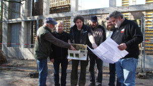 Baufortschritt des Menschenaffenhauses im Zoo Osnabrück