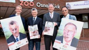 """Mit """"Zootographien"""" zum 80. Geburtstag des Osnabrücker Zoos werden Zoofans zum Tier"""