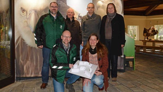 Allwetterzoo Münster - Geier-Restaurant Eröffnung