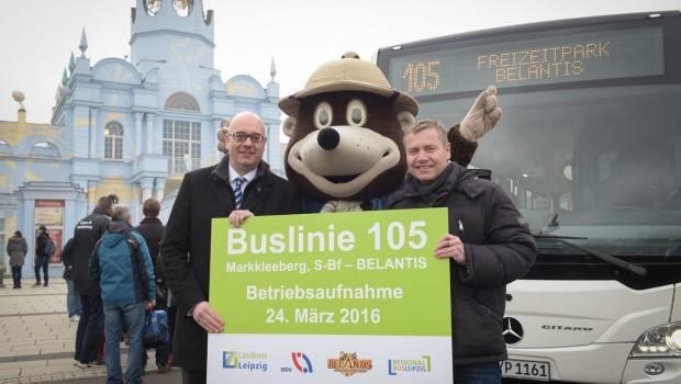 BELANTIS-Buslinie Betriebsaufnahme