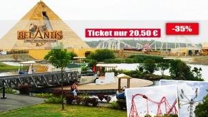 Belantis Tickets günstiger sichern: Angebot mit 35% Rabatt auf den Eintritt