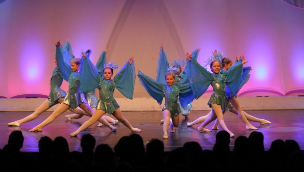 """Carribean Blue"" bei den Duisburger Tanztagen 2016"